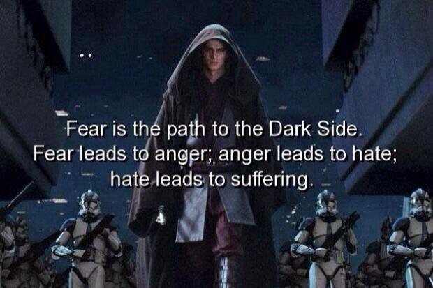 Anikan Skywalker / Darth Vader tumblr #starwars #darthvader