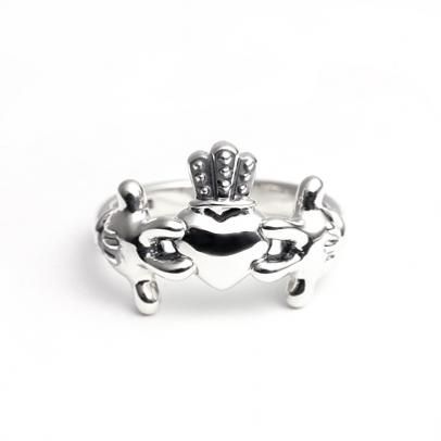 Mickey Mouse Claddagh Ring Cute I Love Claddagh Rings Hand