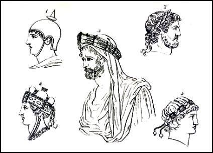 Hairstyles and Headwear of Roman Men  77d3d22b7b6