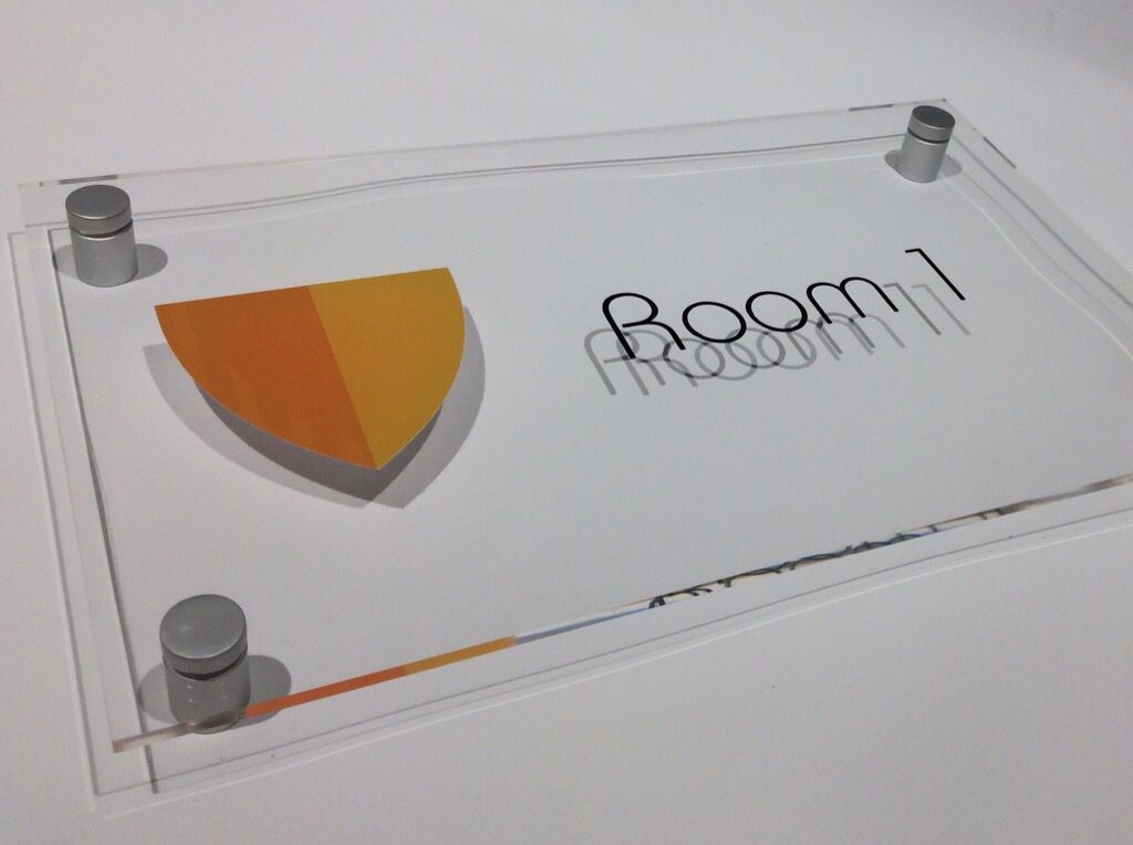 modern perspex office door signs wwwde