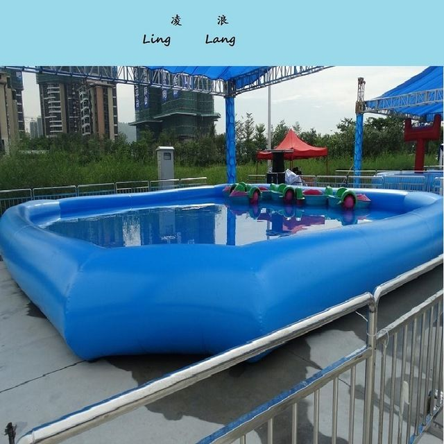 Inflatable Pool Outdoor Large Type Swimming Pool Size 8 8 06 M Water Park Can Inflated Pool Summer Cool Inflatable Pool Swimming Pool Size Swimming Pools