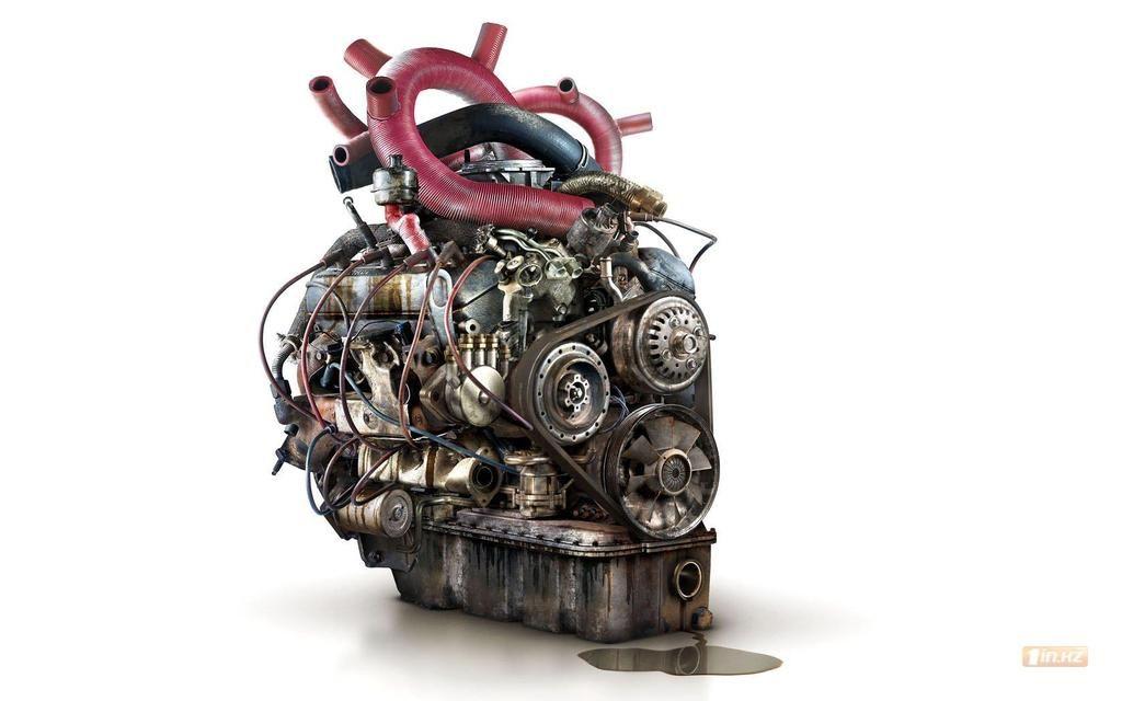 доске картинки в виде сердца-мотора совсем своих приемных