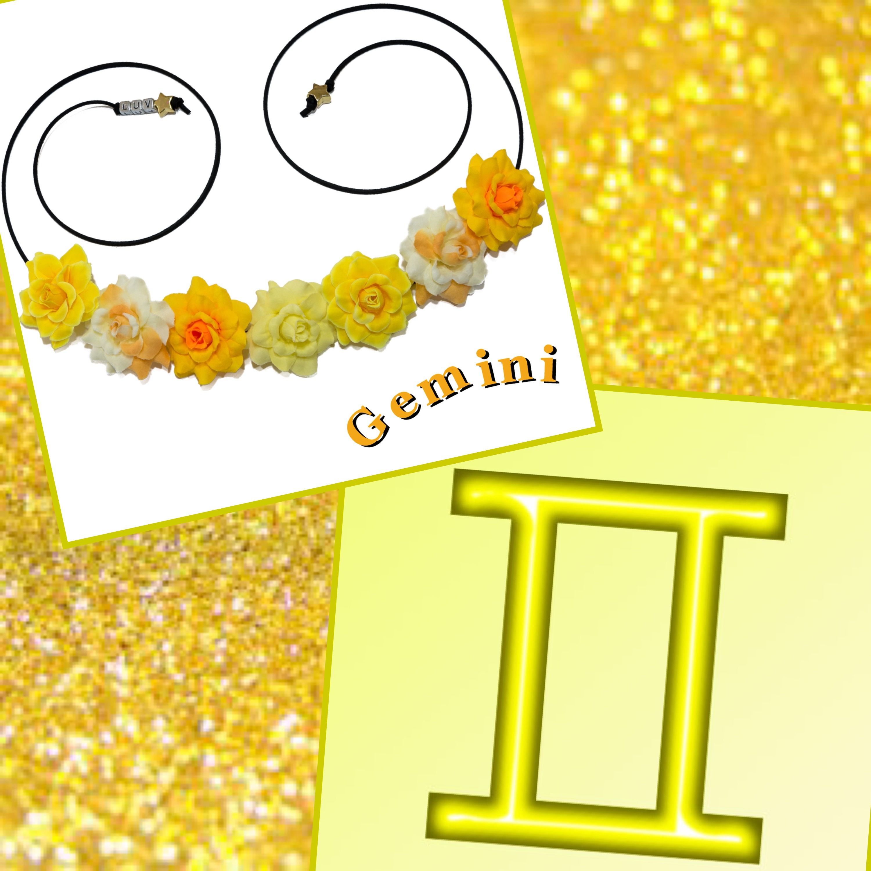 LUVIT 😍 Gemini Flower Crown May 21 June 20 ♊️