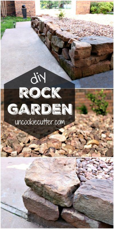 Maintenance Free Garden Ideas creating a butterfly garden maintenance free gardening ideas How We Diyed Our Rock Garden
