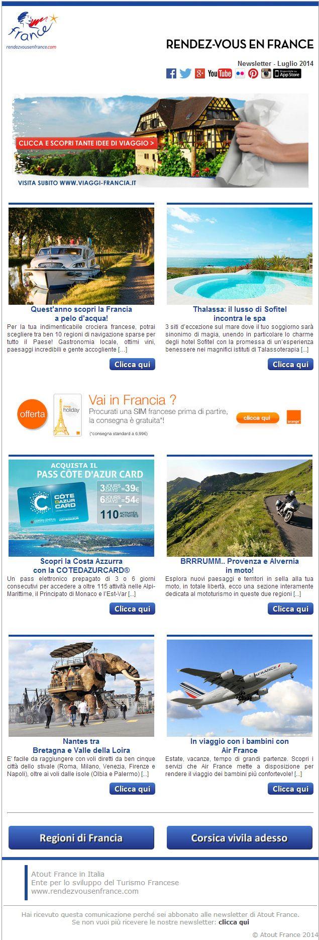 Scopri le idee di viaggio per la tua estate in Francia...