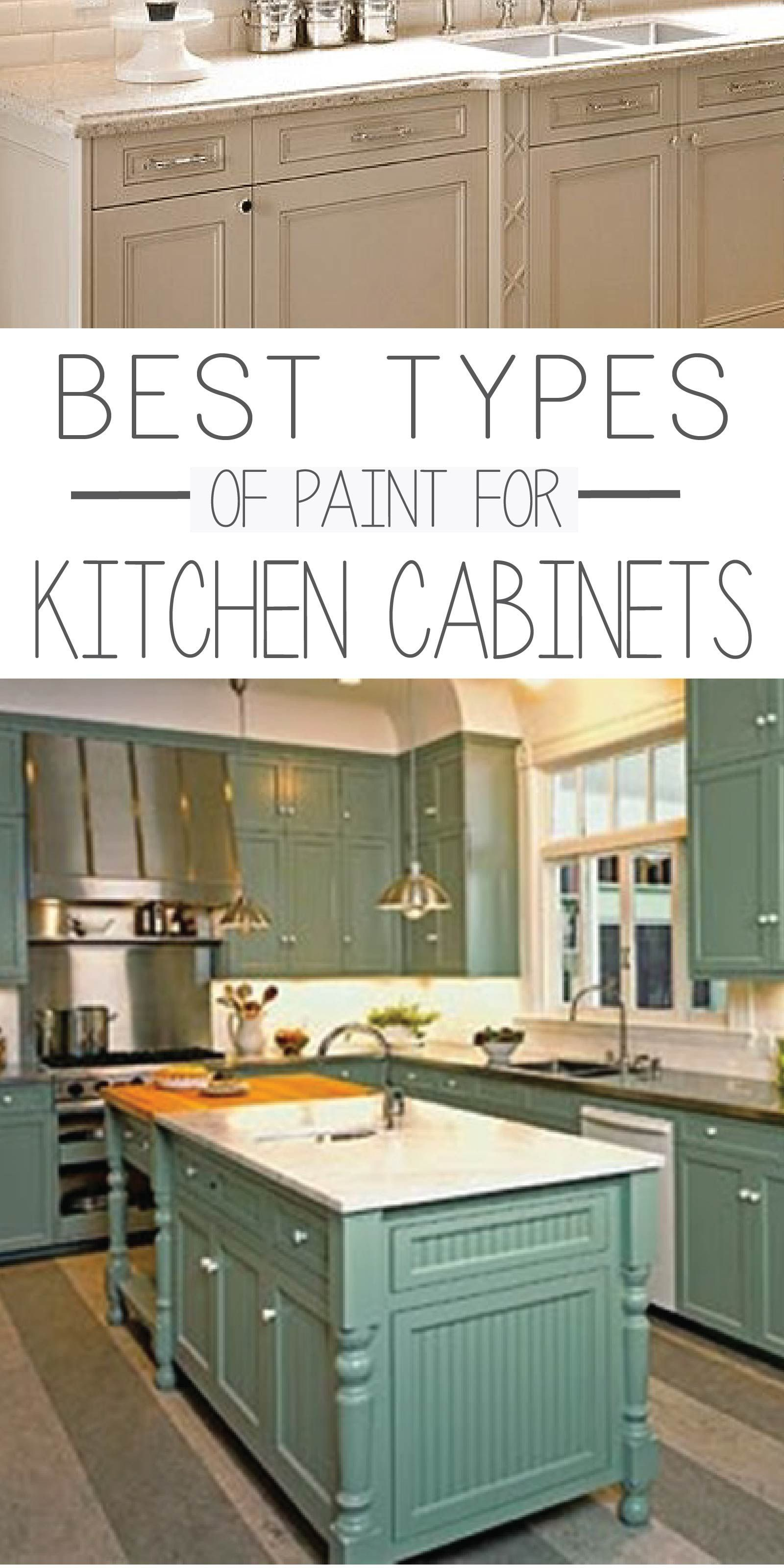 The 5 Best Types Of Paint For Kitchen Cabinets Kitchen