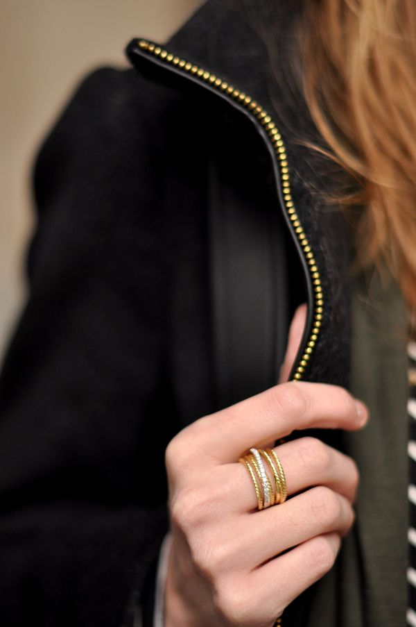 By David Yurman {Crossover Ring } $2,350.00... never going to happen but I like it!