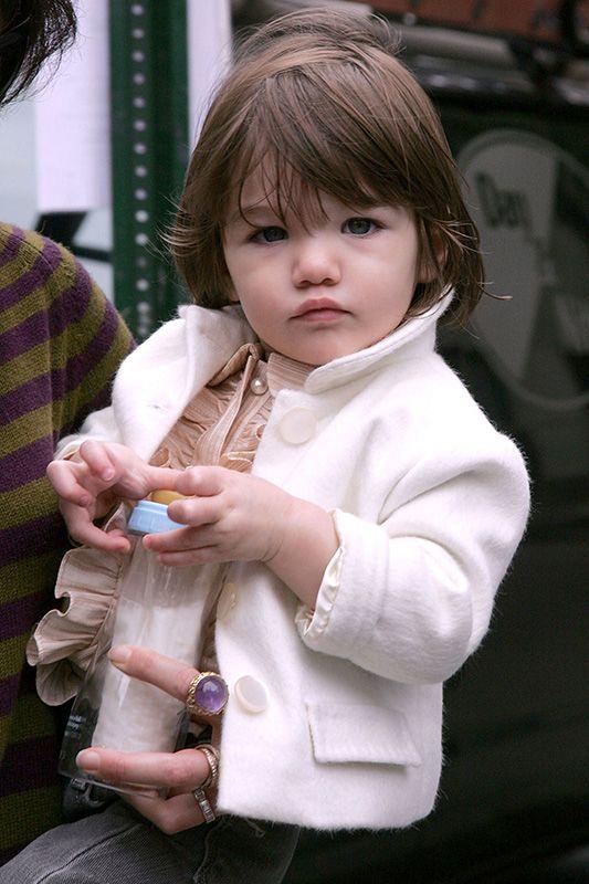 時尚小公主 Suri Cruise 9歲了!來回顧她的精彩造型吧!