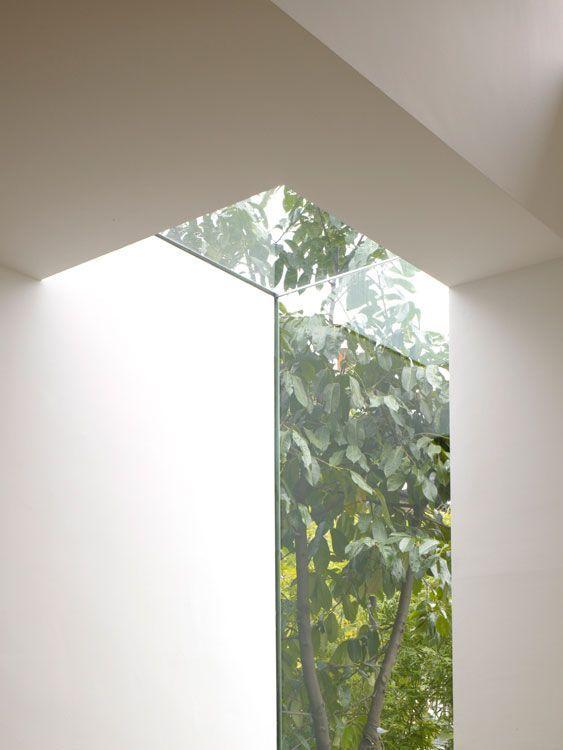 Corner Rooflight Interior Architecture Design Roof Light Interior Architecture