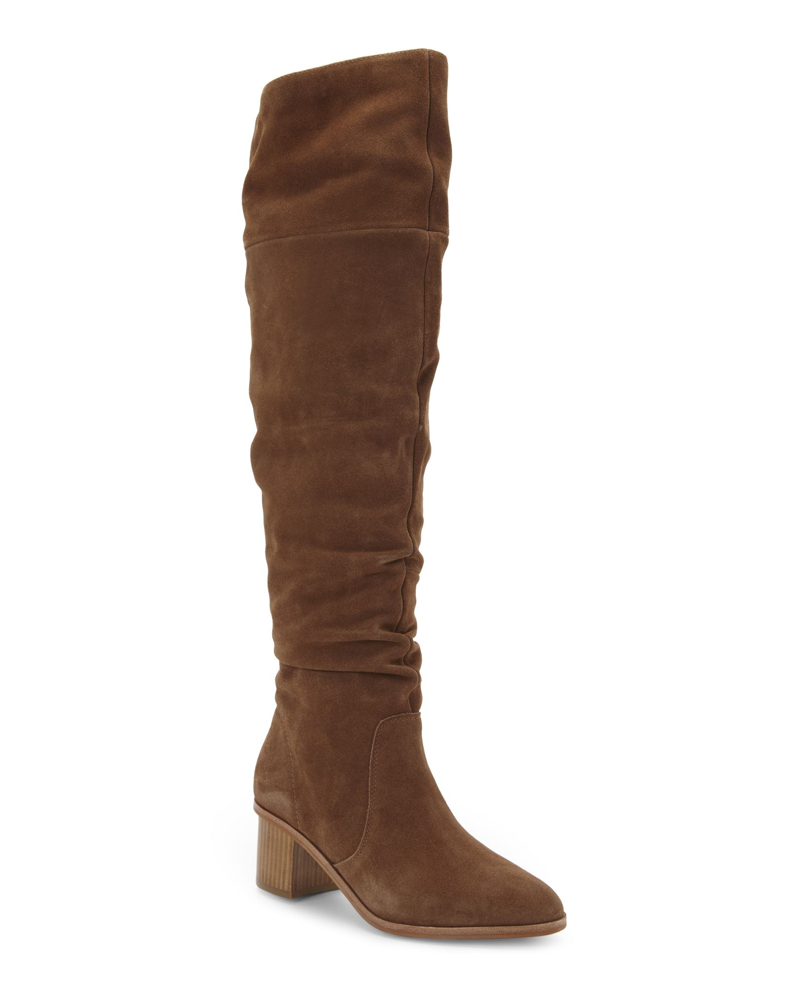 de0e47e1f6fc French Connection Tan Clementina Over The Knee Boots