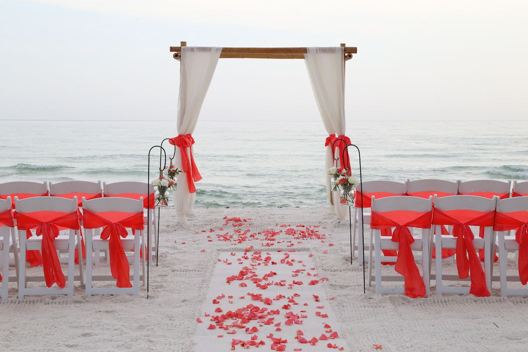 Sunshine Wedding Company Beach Packages For Panama City Florida Fresh Flower Vases Hanging
