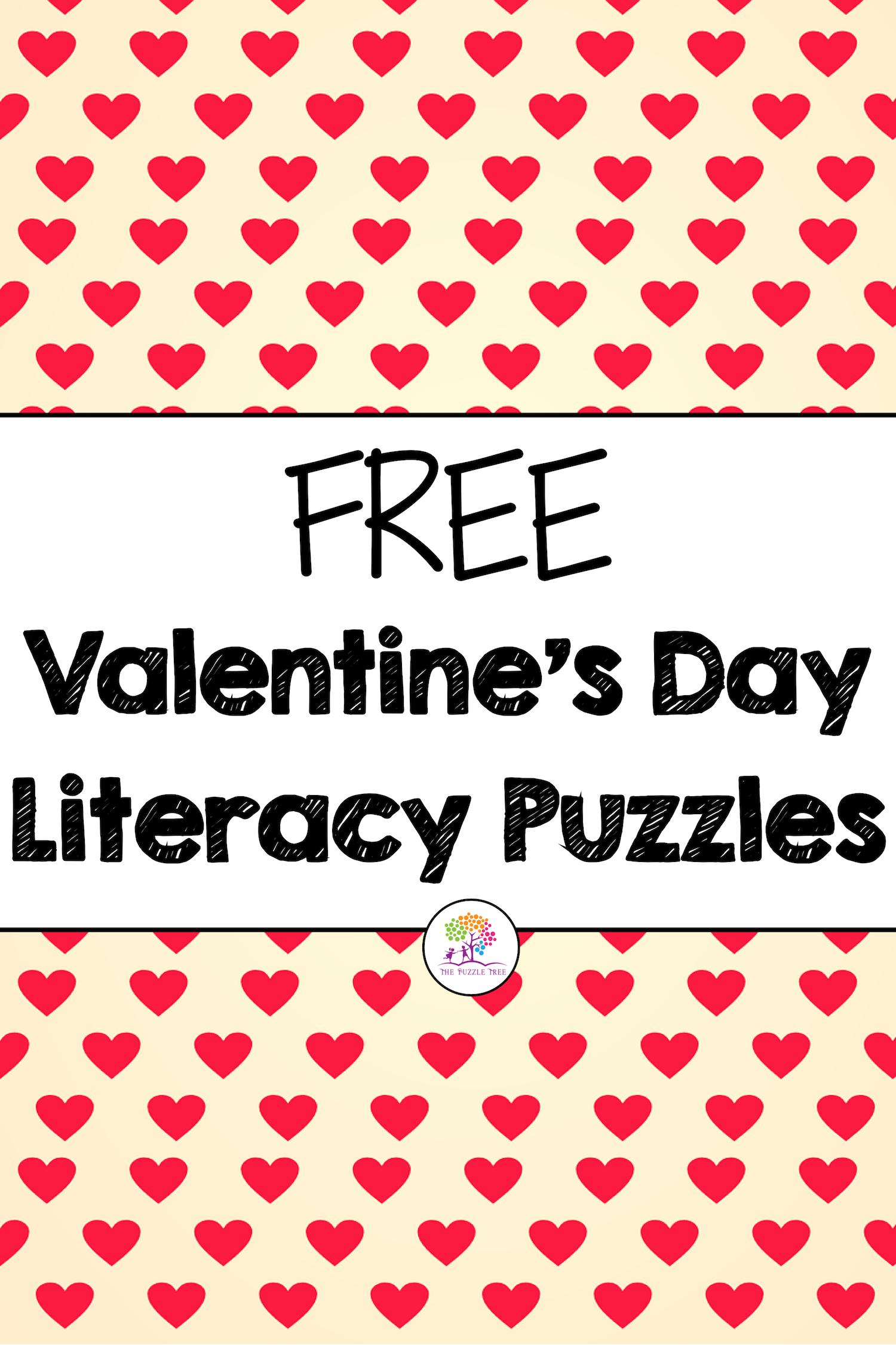 Valentine S Day Free Valentine S Day Activities Literacy