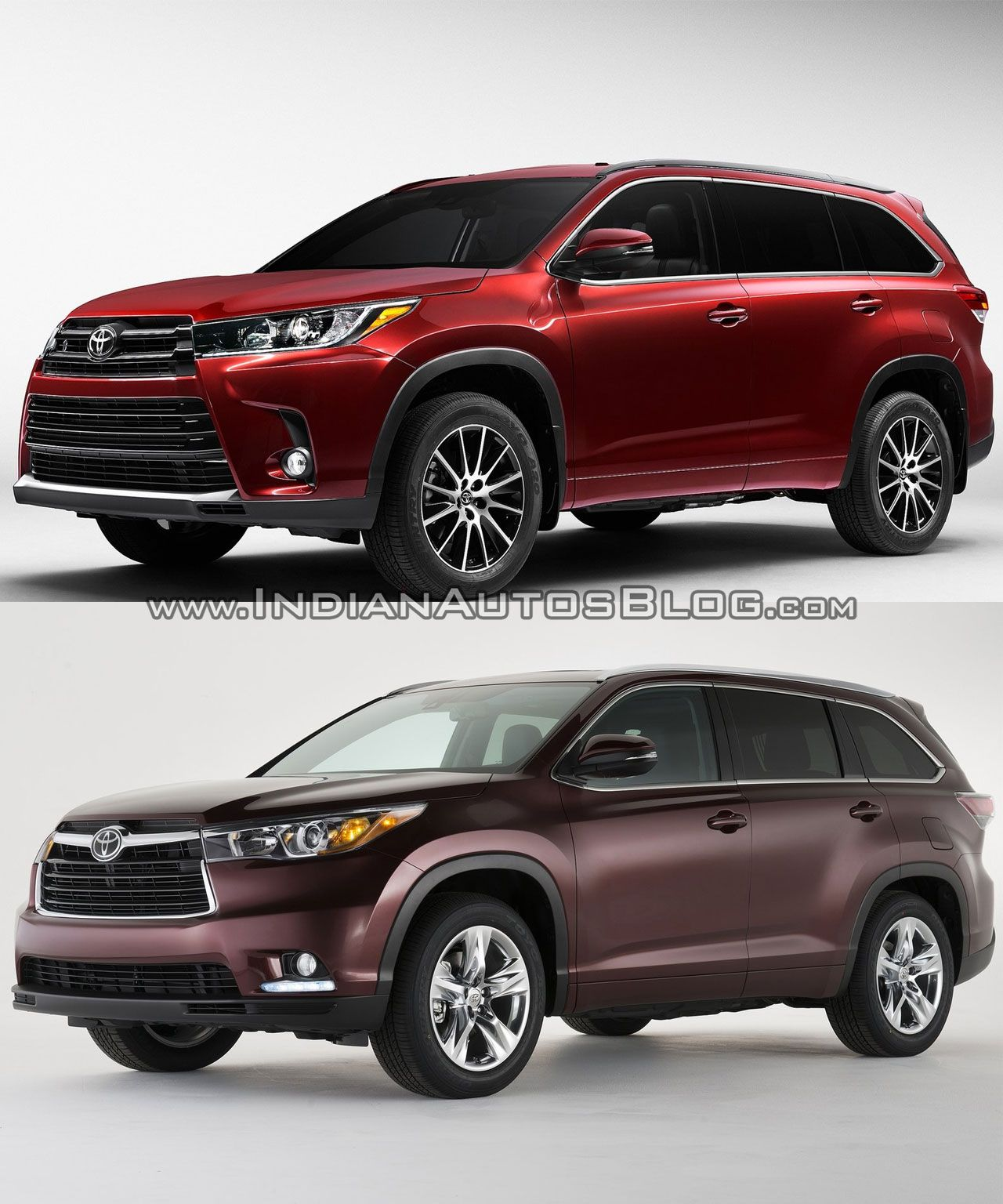 2017 Toyota Highlander Vs In Images