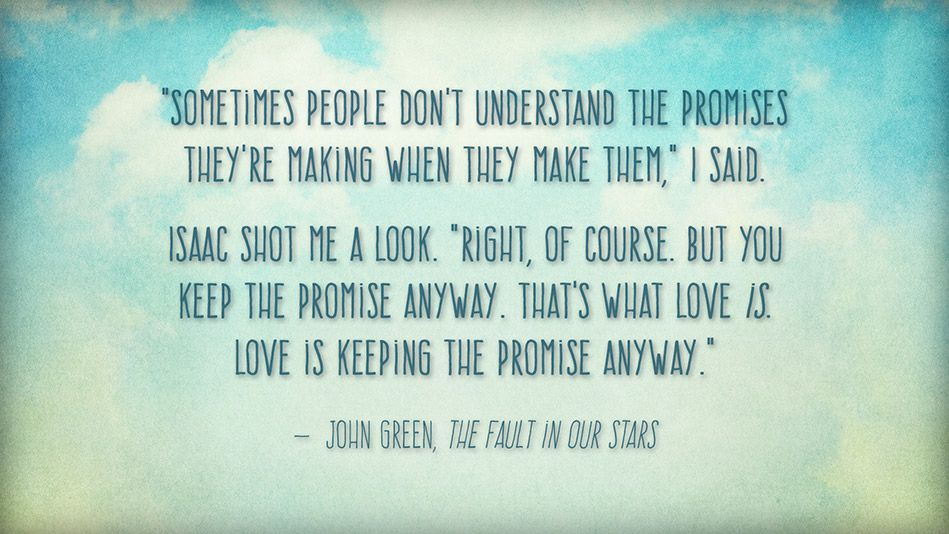 The 6 Best Passages From The Fault In Our Stars With Images