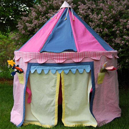 Sew up a trio of playhouse tents