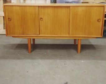 Credenza Danese Anni 50 : Sideboard credenza madia design danese anni 50 originale modifica