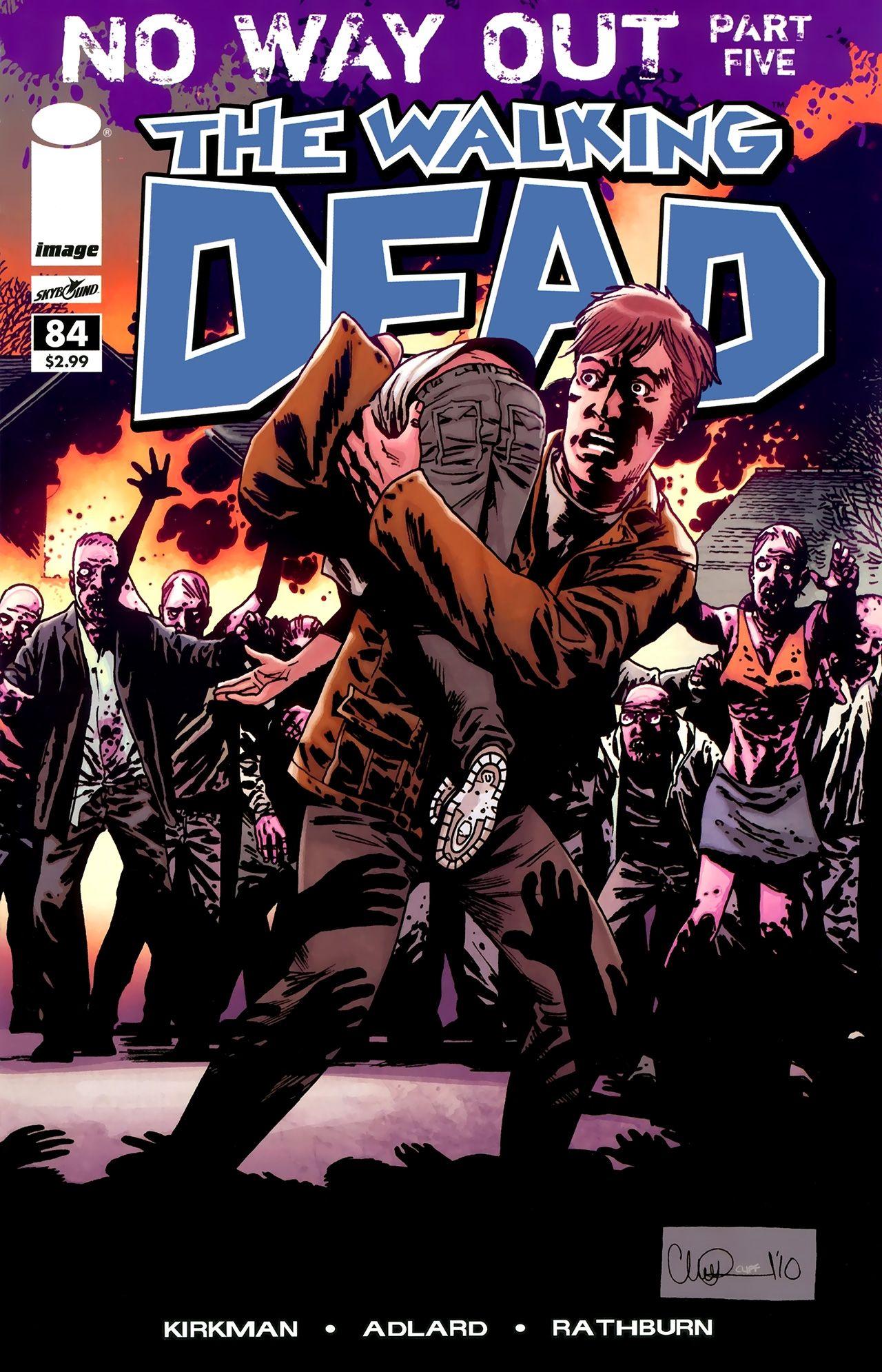 The Walking Dead Comic 84 Walking Dead Comics Walking Dead Comic Book Image Comics