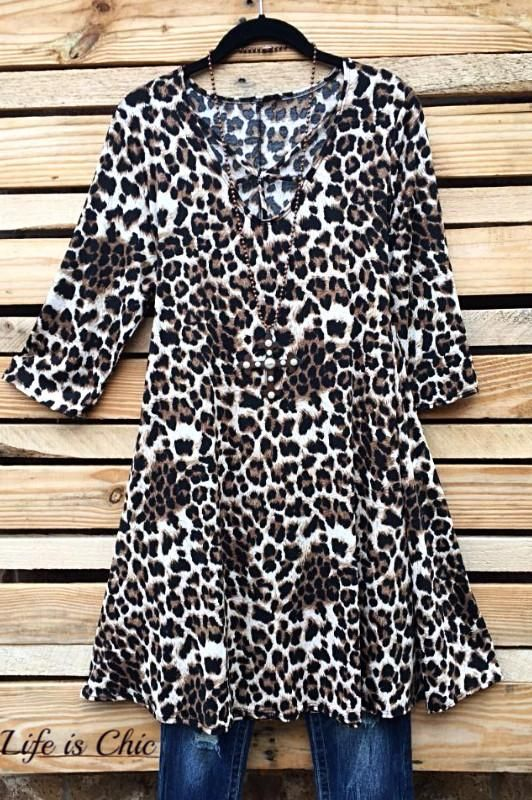 e1dd55ec4c3 WILD AT HEART LEOPARD PRINT DRESS Leopard Print Dresses