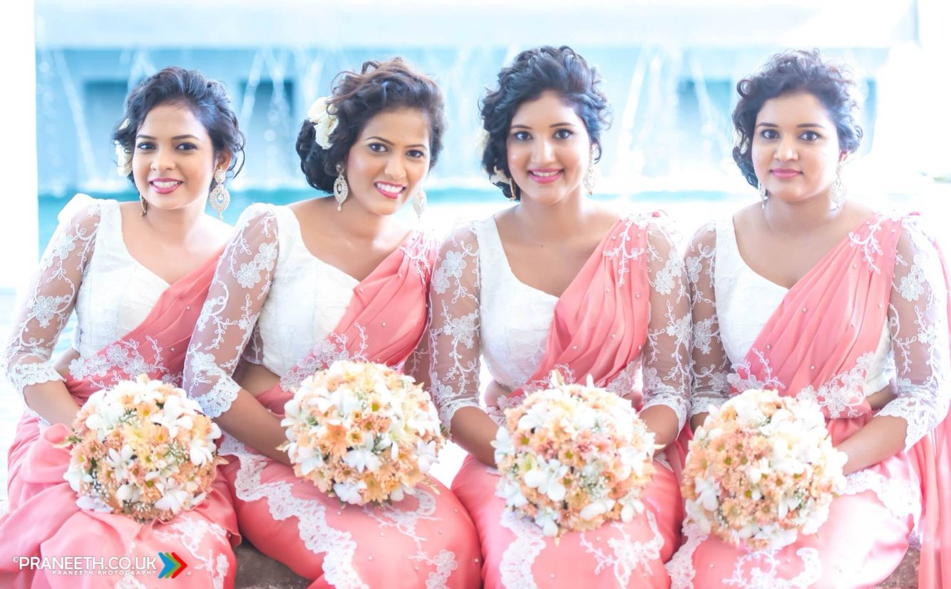Gorgeous brides maids ❤ ❤ by Chandimal Jayasinghe | Celebration ...
