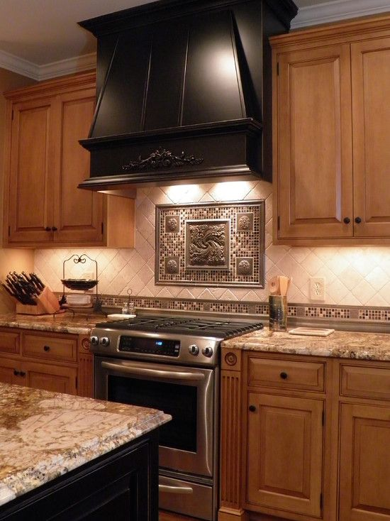 Honey Maple Cabinetry With Countertops Design Pictures Remodel