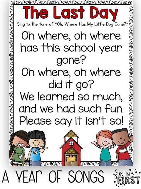 Kindergarten Poetry Book Cover ~ Using songs in your classroom morning meetings school