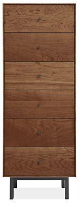 Hudson Dressers with Steel Base - Dressers - Bedroom - Room & Board