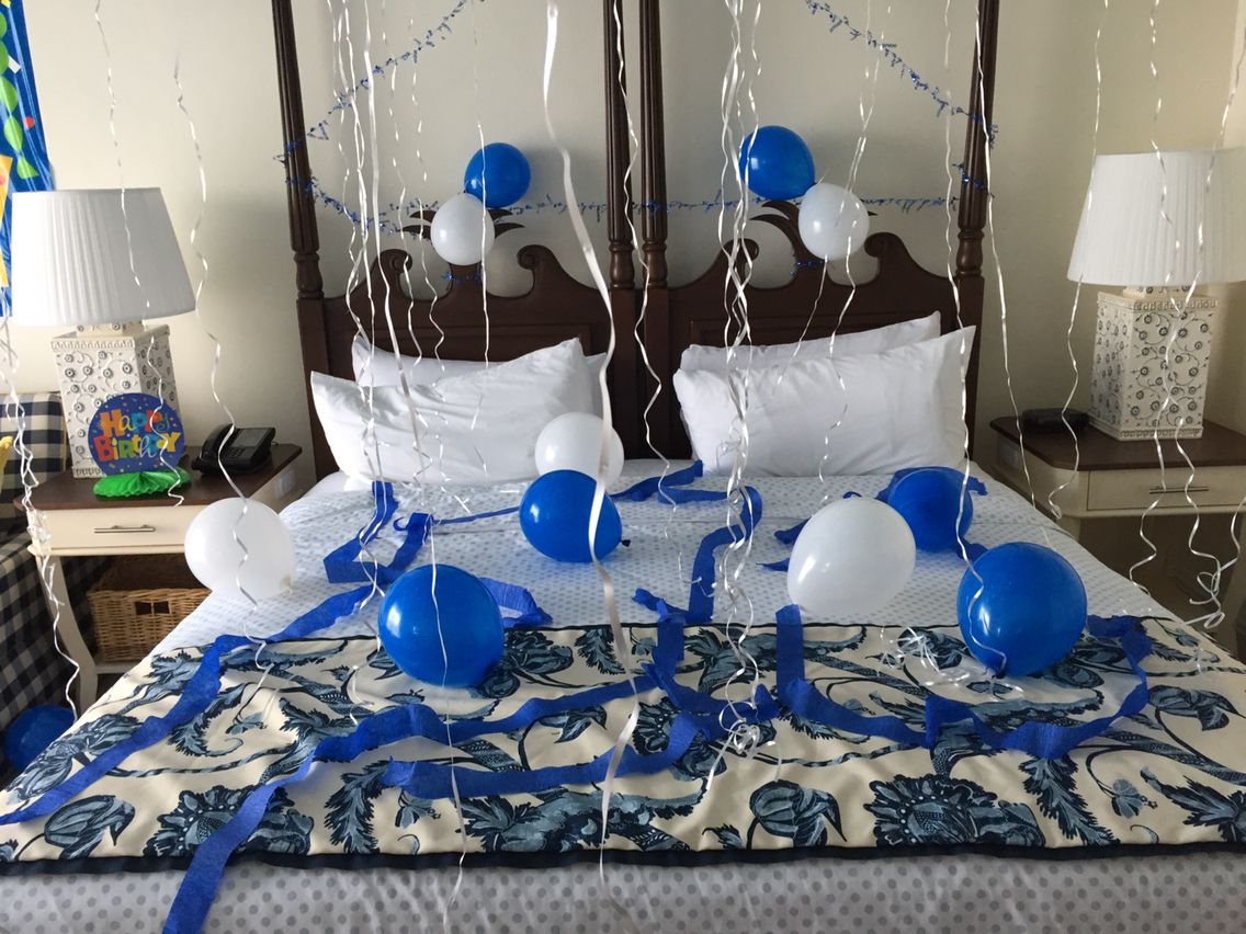hotel room birthday decorations holidays and events in 2019 birthday decorations hotel. Black Bedroom Furniture Sets. Home Design Ideas