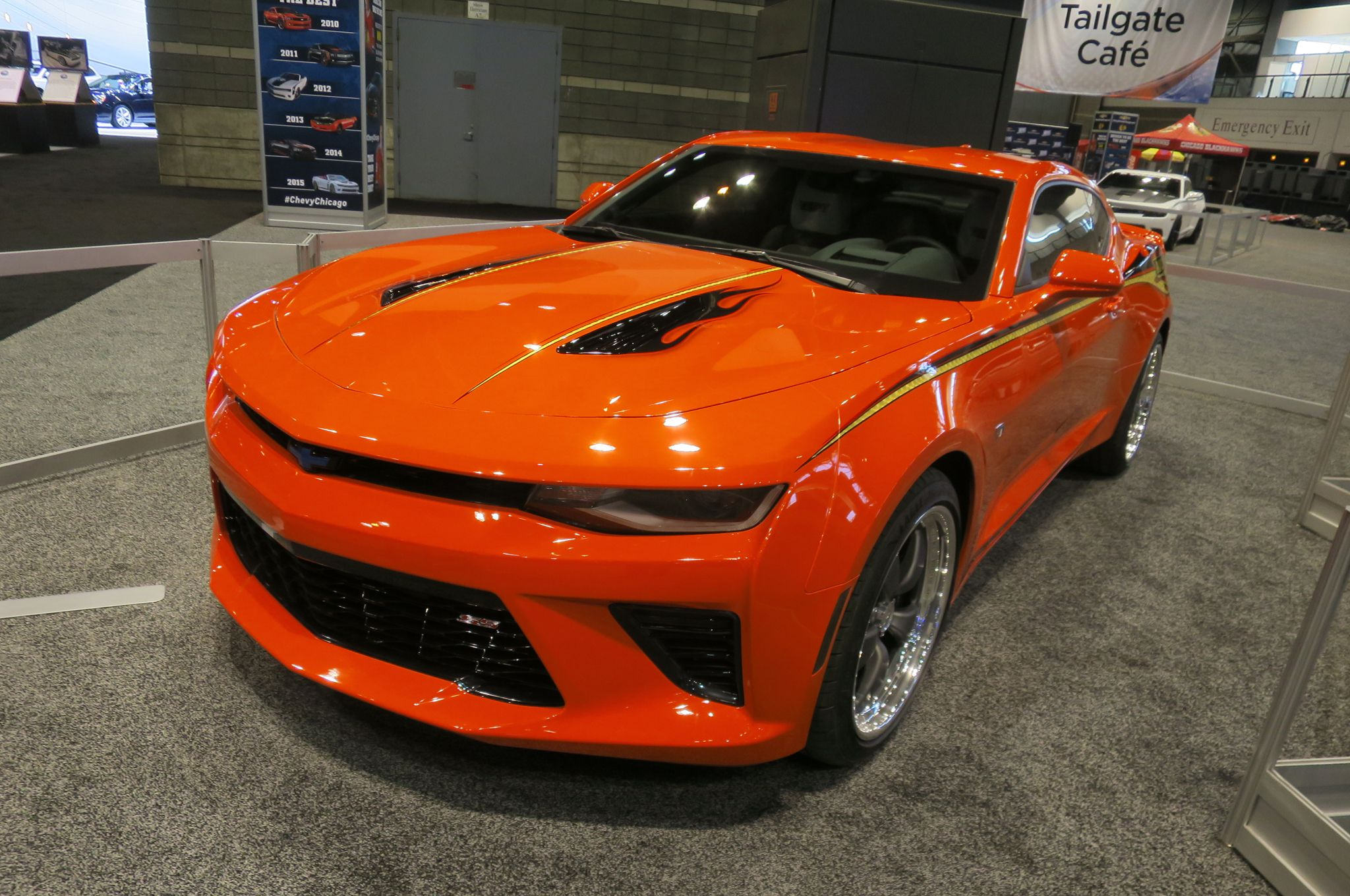 2016 Chevrolet Camaro Ss By Nickey Performance Front Three Quarter The Hidden Survival Muscle In Your