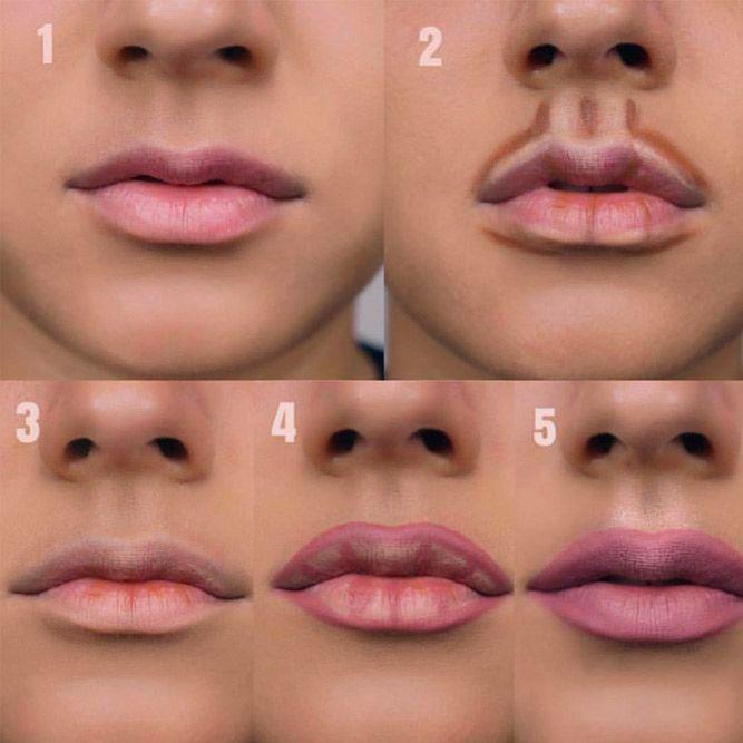 Wie man Make-up macht - Schritt für Schritt Tipps für den perfekten Look  #Makeup  Schritt für Schritt Lippen Make-up #lipstutorial #lipscontouring ★ Jedes Mädchen kann Make-up machen, aber weißt du, wie man Make-up richtig macht? Wenn Sie diesen Beitrag gelesen haben, werden Sie lernen, wie man es wie ein Profi macht! Hier finden Sie nützliche schrittweise Anleitungen, die Ihnen zeigen, wie Sie Konturen erstellen und mit Foundation und Lidschatten arbeiten. ★