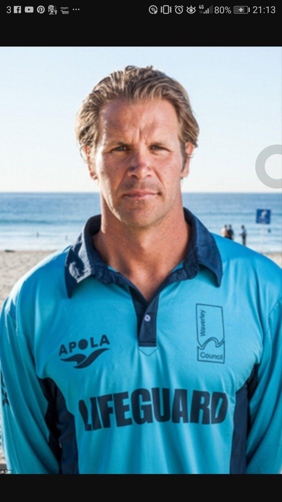 Trent Falson Singlets Bondi Rescue Lifeguard Beach Lifeguard Lifeguard Singlets