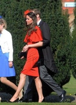 Kate Middleton And Prince William Attended The Wedding Of David Jardine Paterson Emilia D Erlanger 17 April 2010