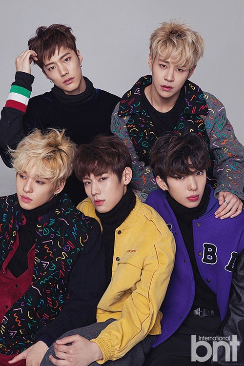 Imfact Bnt International January 17 Korean Singer Korean Actors Boy Groups