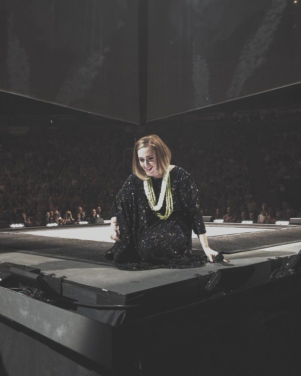 Adele Performing At Keyarena Seattle Wa July 25