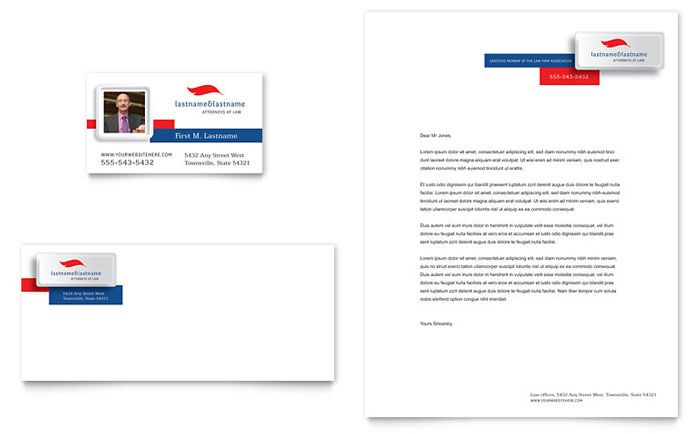 Justice Legal Services Business Card And Letterhead Template