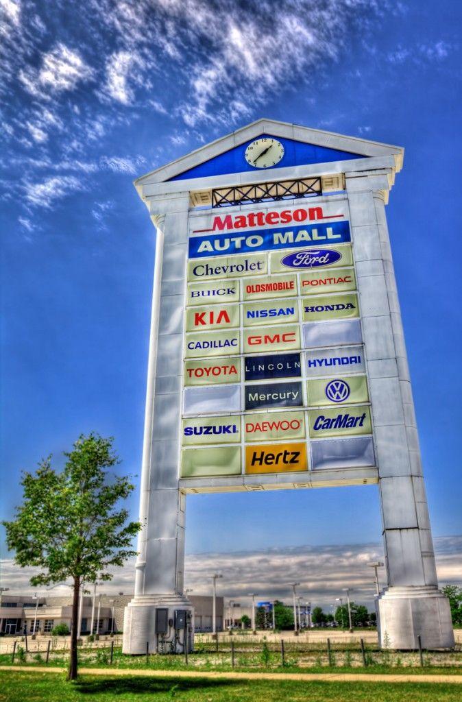 Matteson Auto Mall >> Matteson Auto Mall Sign In Matteson Illinois Near I 57 And Us 30