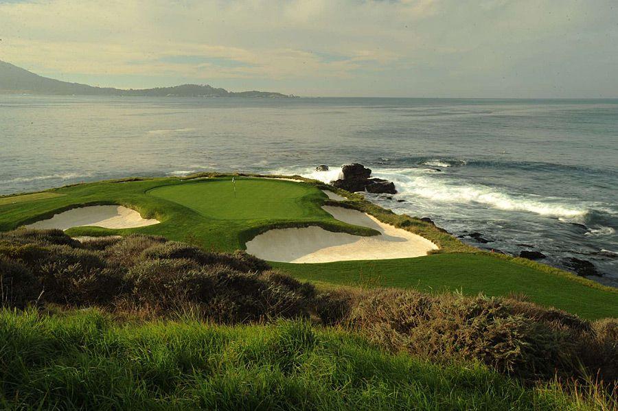 Pebble Beach Ca Golf Links Spygl Hill Spanish Bay