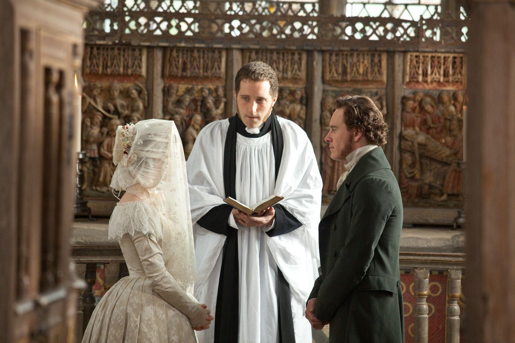 007 Michael Fassbender & Mia Wasikowska in Jane Eyre (2011