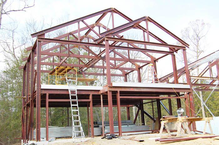 Sample Steel Home Model Steel Frame Homes House Plans Steel Frame House Steel House Steel Frame
