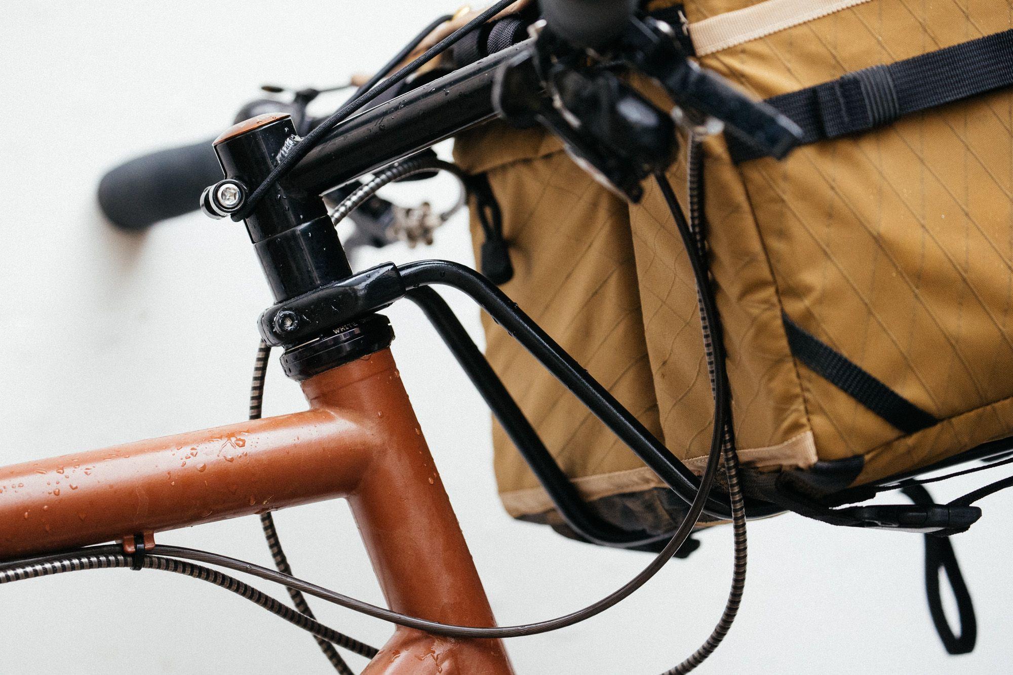 The Tim Tas Rek Ahead Steerer Rack Saves Your Saggy Handlebar