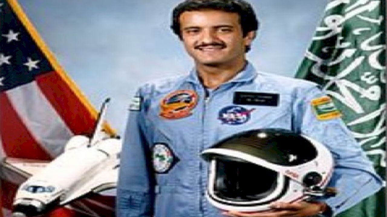أول رائد فضاء عربي مسلم Astronaut Motorcycle Jacket Sultan