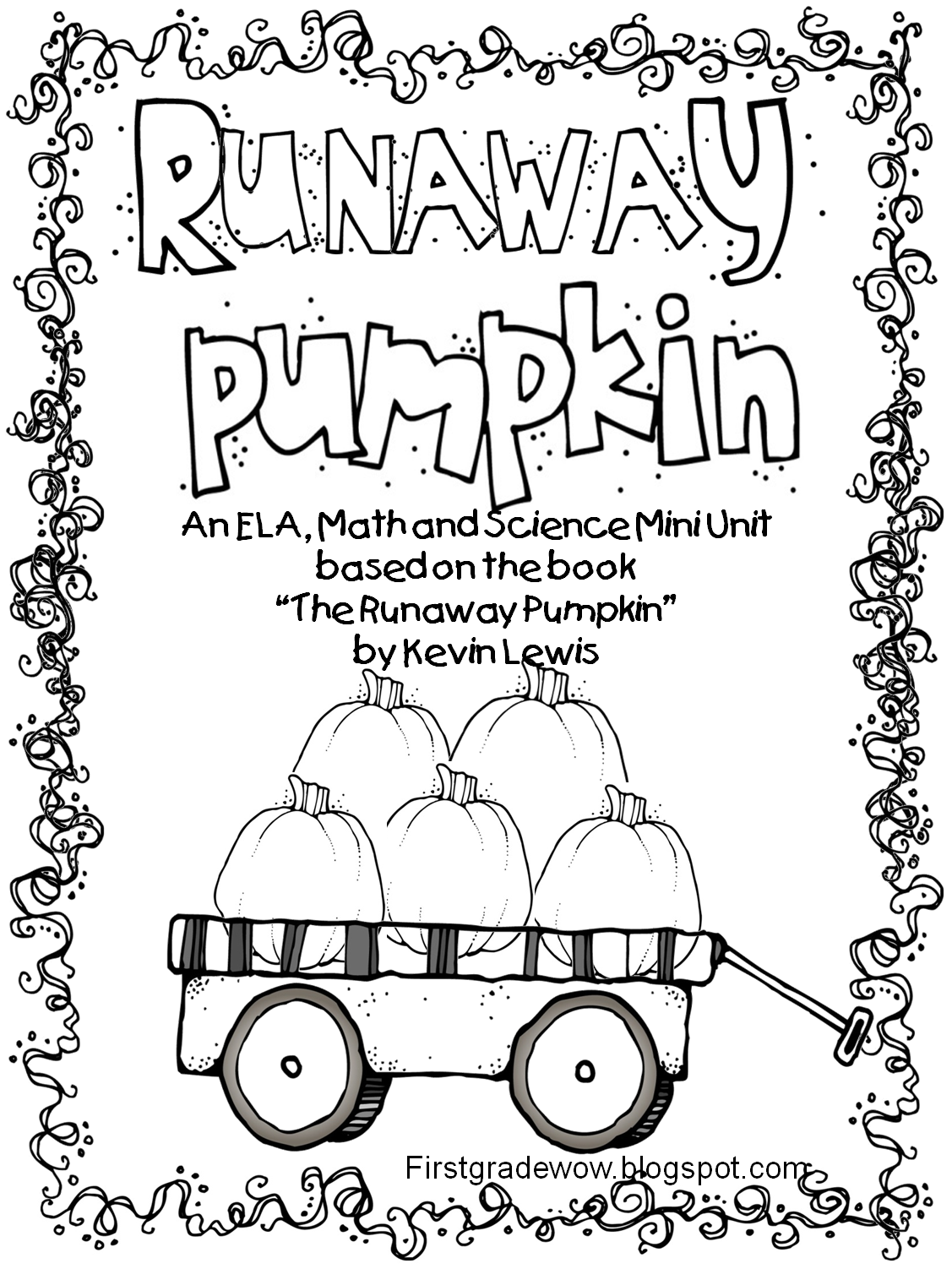 Runaway Pumpkin Unit...poetry, fantasy vs. realistic fiction ...