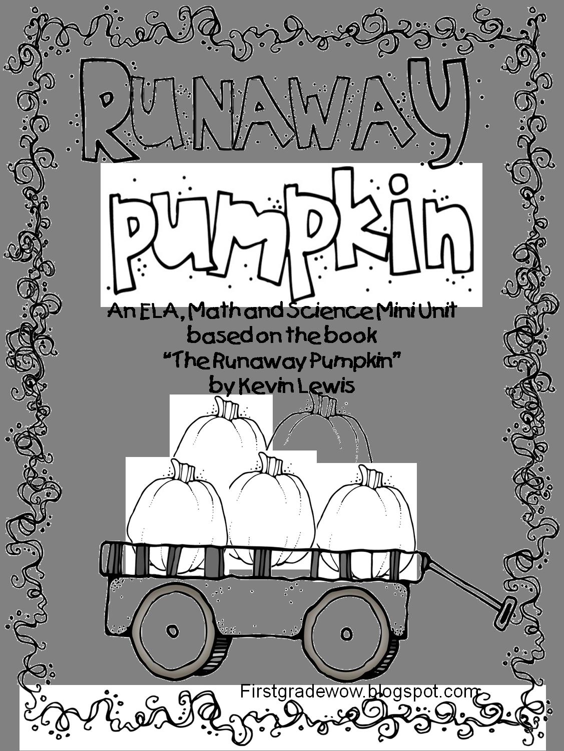 Runaway Pumpkin Unit...poetry, fantasy vs. realistic