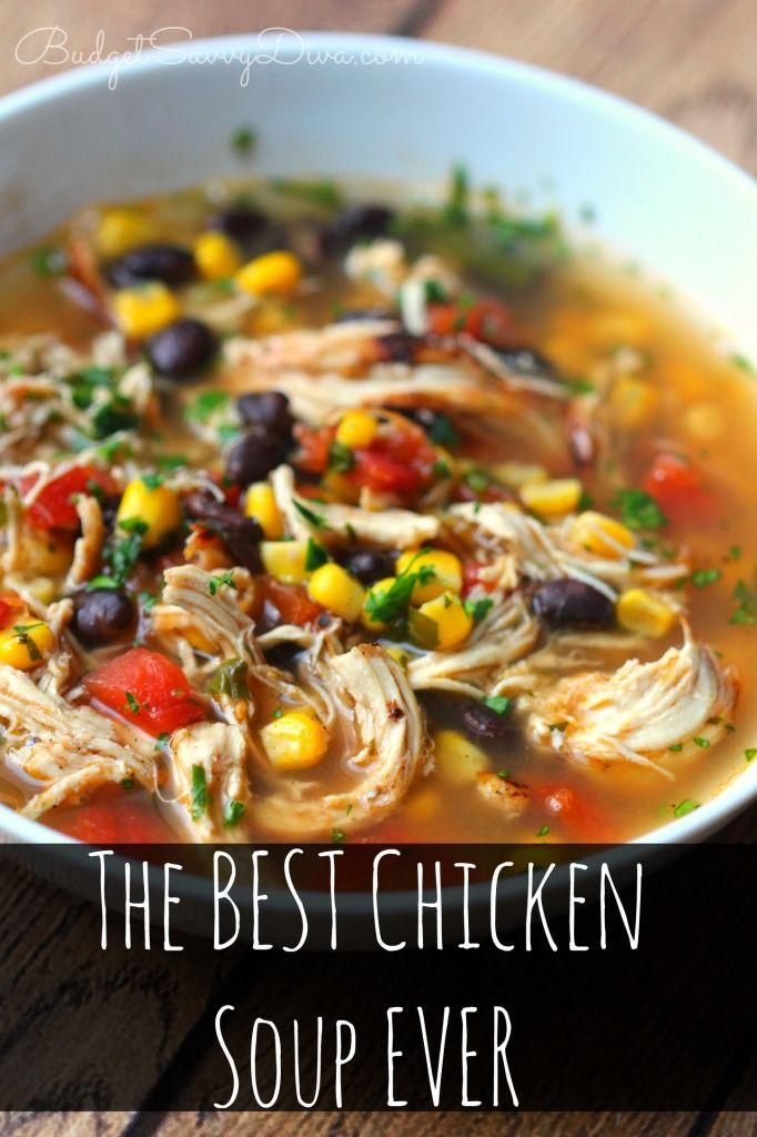 The Best Chicken Soup Ever Recipe Recipe Chicken Soup Recipes Recipes Soup Recipes