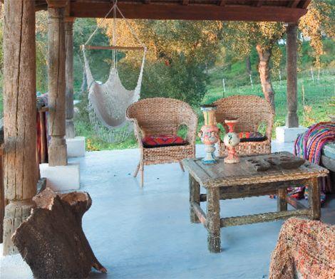 Una elegante casa de campo en portugal decoraci n del - Decoracion casa de campo ...