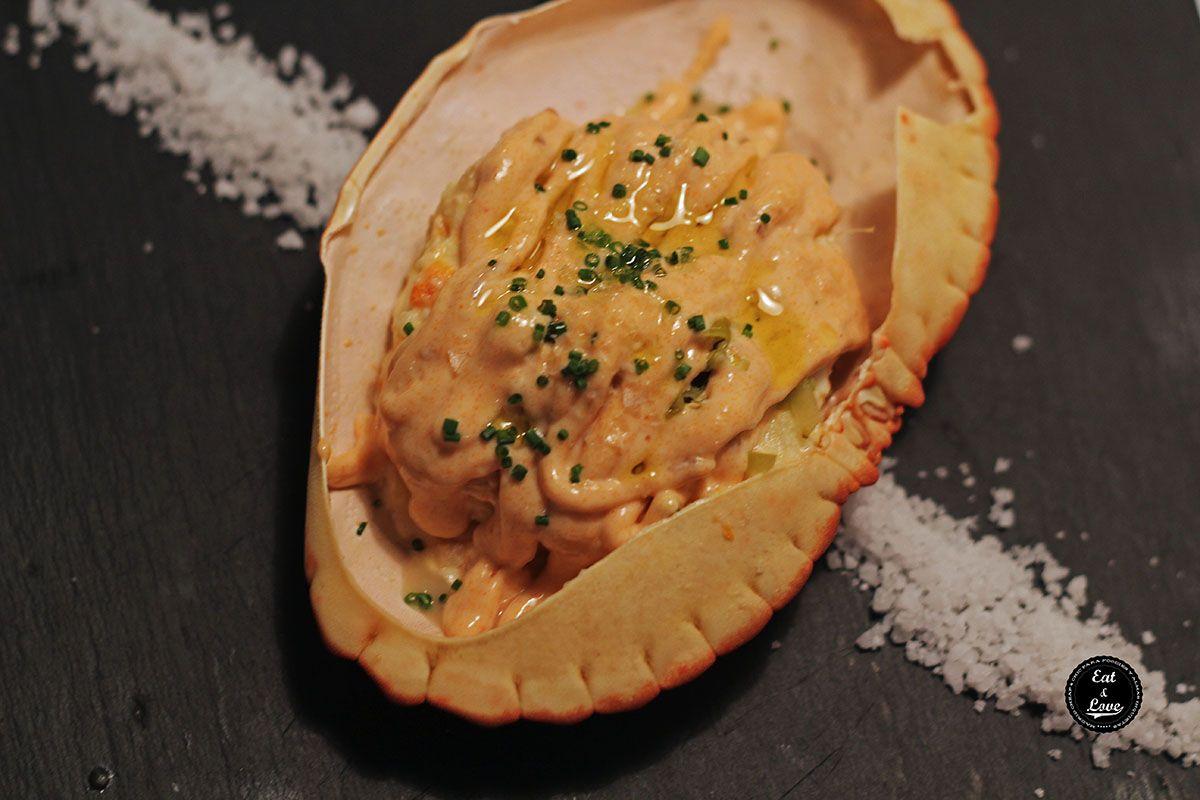 Ensaladilla de buey de mar - Bache restaurante - Madrid