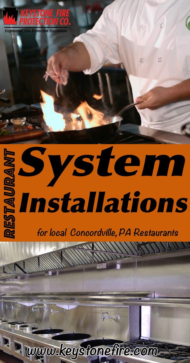 Restaurant Fire Suppression System Installations Concordville Pa