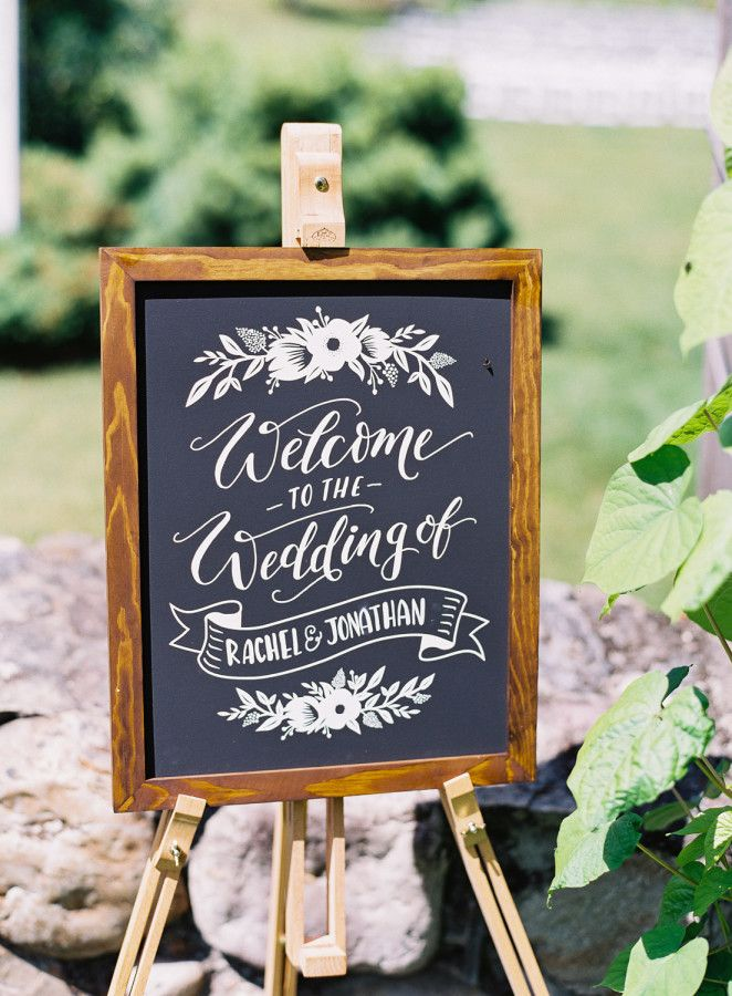 The Best Christmas Present Ever We Think So Wedding Chalkboard