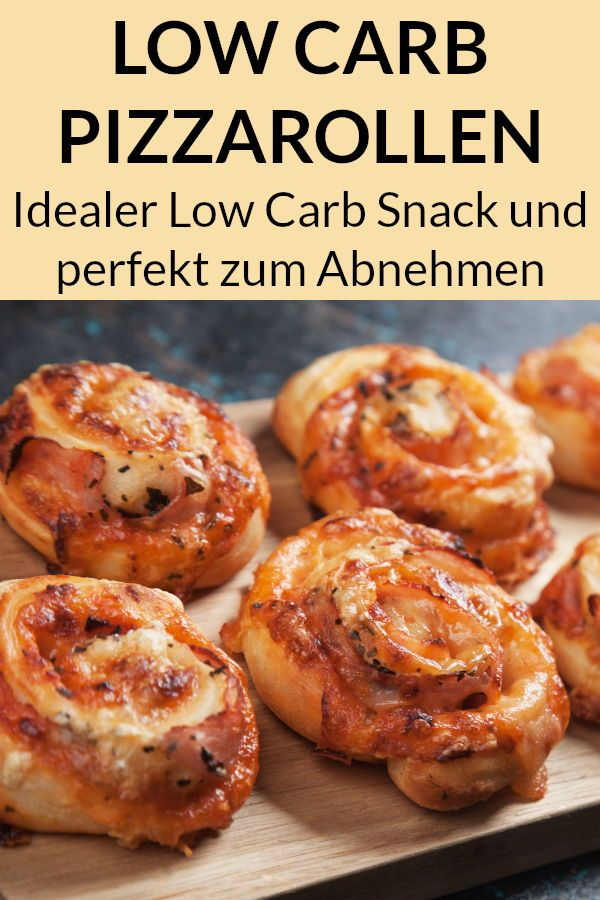 Photo of Low Carb Pizza Snails – Protein-rich recipe for slimming