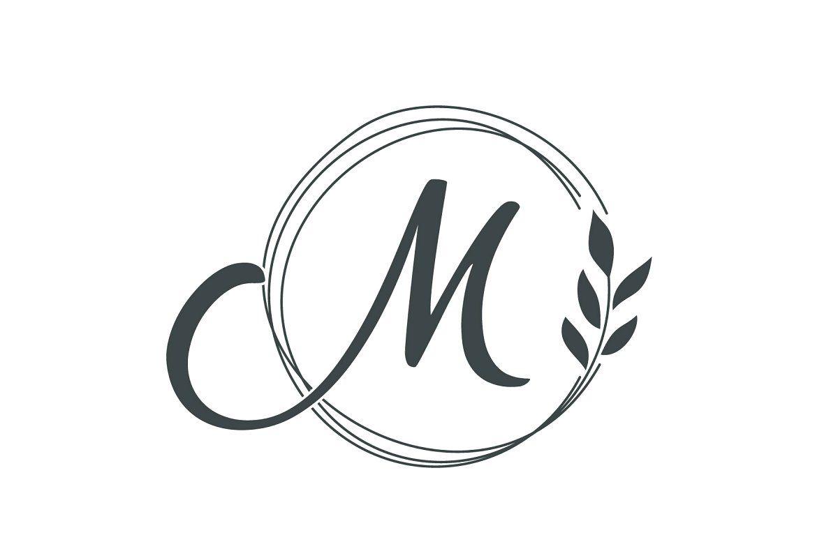 49+ M letter design images trends