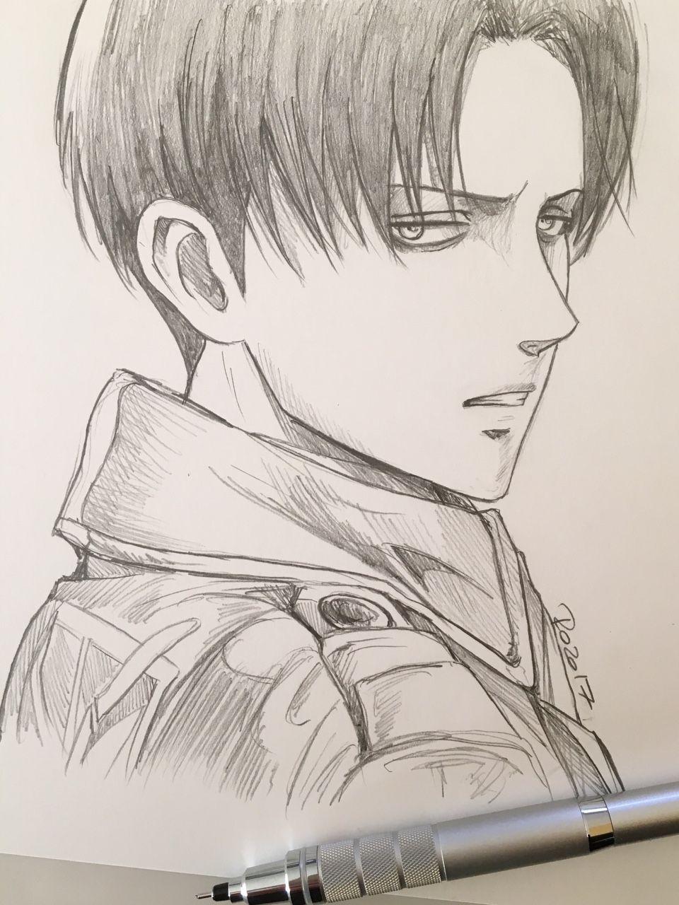 "roredwarrior3 ""Levi little sketch "" Desenhos de anime"